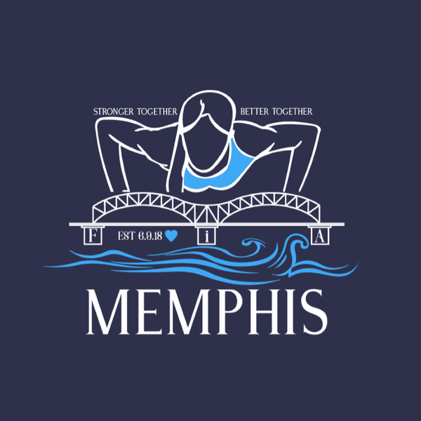 FiA Memphis Port & Company Ladies Long Sleeve Cotton Tee Pre-Order
