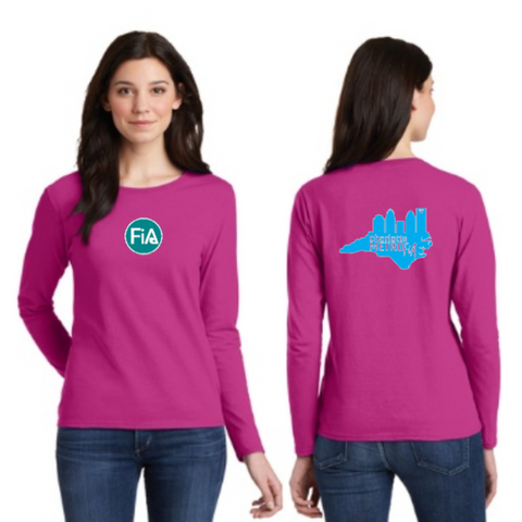 FiA Metro Gildan Ladies Heavy Cotton 100% Cotton Long Sleeve T-Shirt Pre-Order