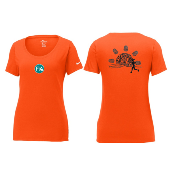 FiA Sunrise Scramblers Nike Ladies Core Cotton Scoop Neck Tee Pre-Order