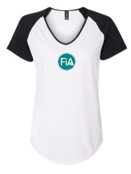 FiA Field of Dreams Anvil Women's Tri-Blend Raglan Tee Pre-Order