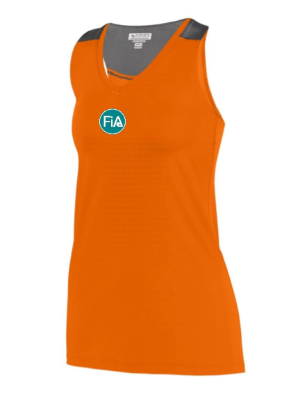 FiA Sunrise Scramblers Augusta Ladies Astonish Tank Pre-Order