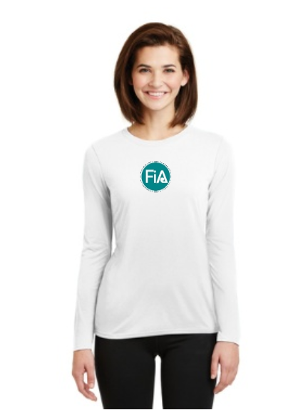 FiA Field of Dreams Gildan Ladies Performance Long Sleeve T-Shirt Pre-Order