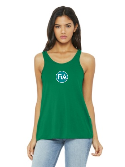 FiA Crystal Coast Event Shirt Bella+Canvas Women's Flowy Racerback Tank Pre-Order