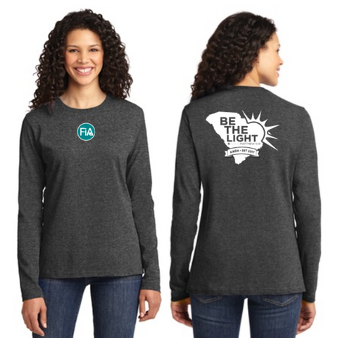 FiA Aiken Port & Company Ladies Long Sleeve Cotton Tee Pre-Order
