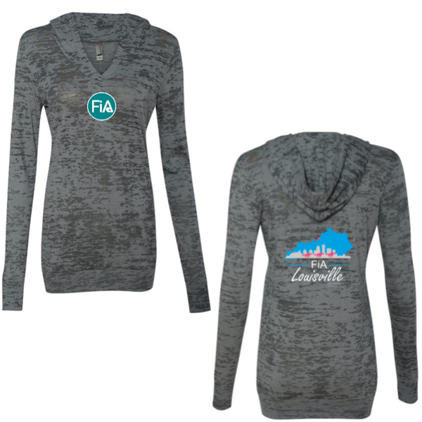 FiA KY Louisville Next Level Women's Burnout Hoody Pre-Order