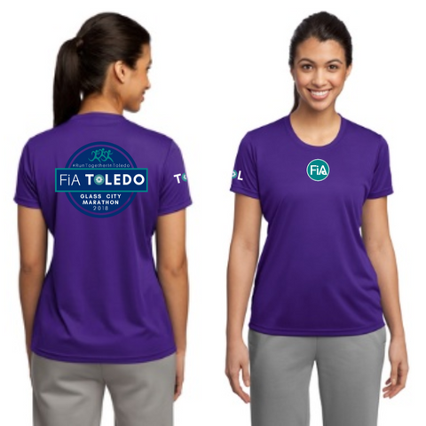 FiA Toledo: The Glass City Marathon Sport-Tek Ladies Competitor Tee Pre-Order