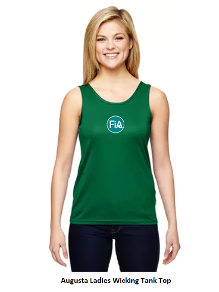 CLEARANCE ITEM - FiA 2019 Palmetto Augusta Ladies Wicking Tank Top