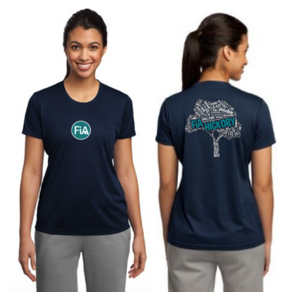 FiA Hickory Sport-Tek Ladies Competitor Tee Pre-Order