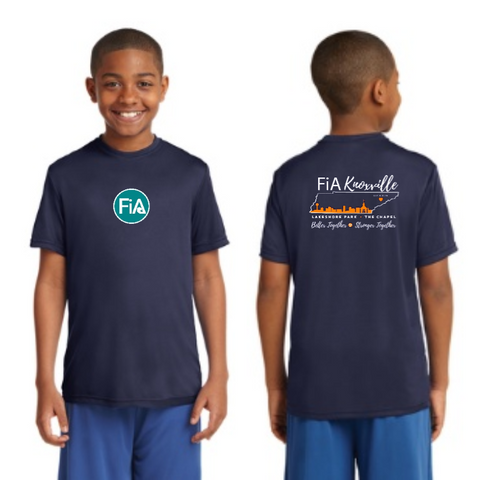 FiA Knoxville Sport-Tek Youth PosiCharge Competitor Tee Pre-Order