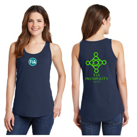 FiA Prosperity Ladies Cotton Tank Top Pre-Order