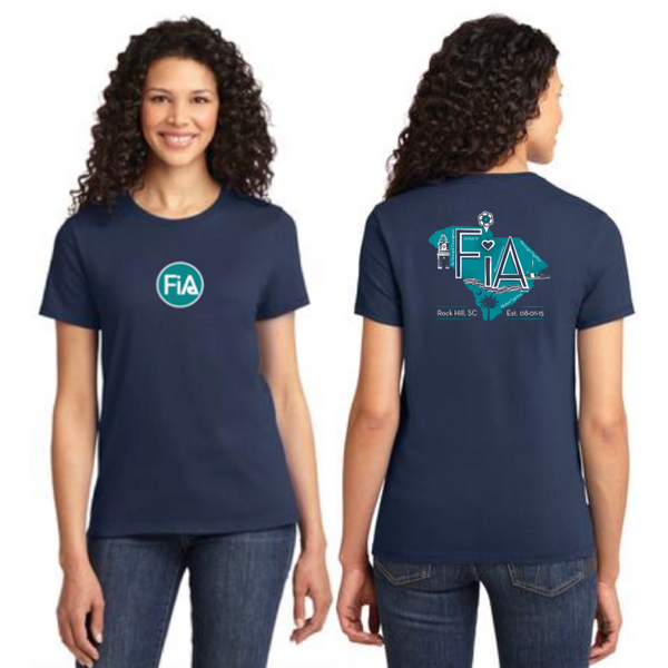 FiA Rock Hill Port & Company Ladies Essential Tee Pre-Order