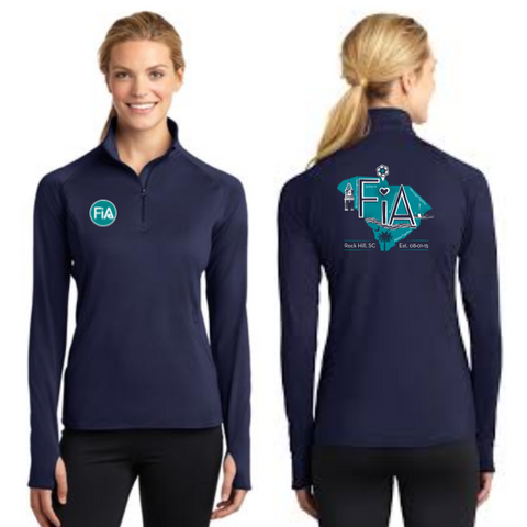 FiA Rock Hill Sport-Tek Ladies Sport-Wick Stretch 1/2-Zip Pullover Pre-Order