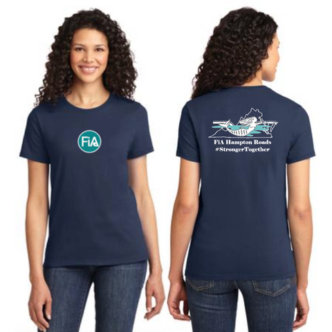 FiA Hampton Roads Port & Company Ladies Essential Tee Pre-Order