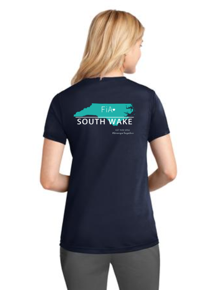 FiA South Wake Port & Company Ladies Performance Tee Pre-Order