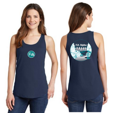 FiA Alpha Ladies Cotton Tank Top Pre-Order