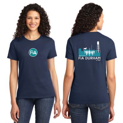 FiA Durham Port & Company Ladies Essential Tee Pre-Order