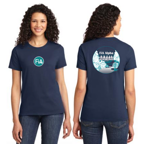 FiA Alpha Port & Company Ladies Essential Tee Pre-Order