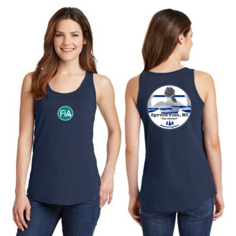 FiA Spruce Pine Ladies Cotton Tank Top Pre-Order