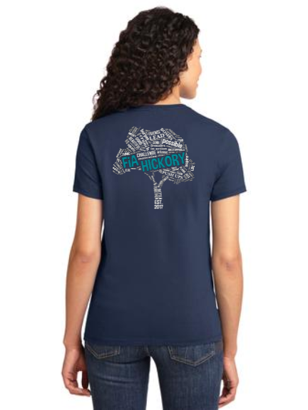 FiA Hickory Port & Company Ladies Essential Tee Pre-Order