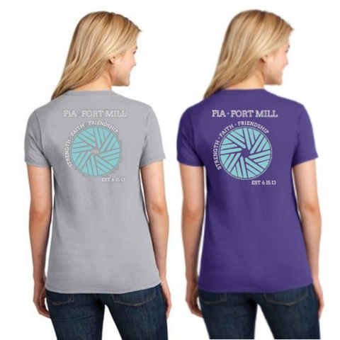 FiA Fort Mill Port & Company Ladies Short Sleeve Cotton Tee Pre-Order