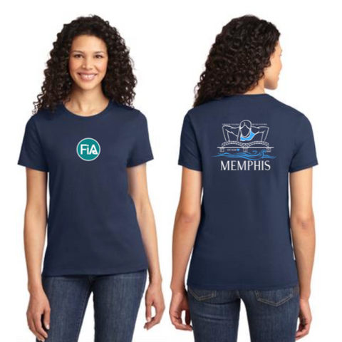 FiA Memphis Port & Company Ladies Essential Tee Pre-Order