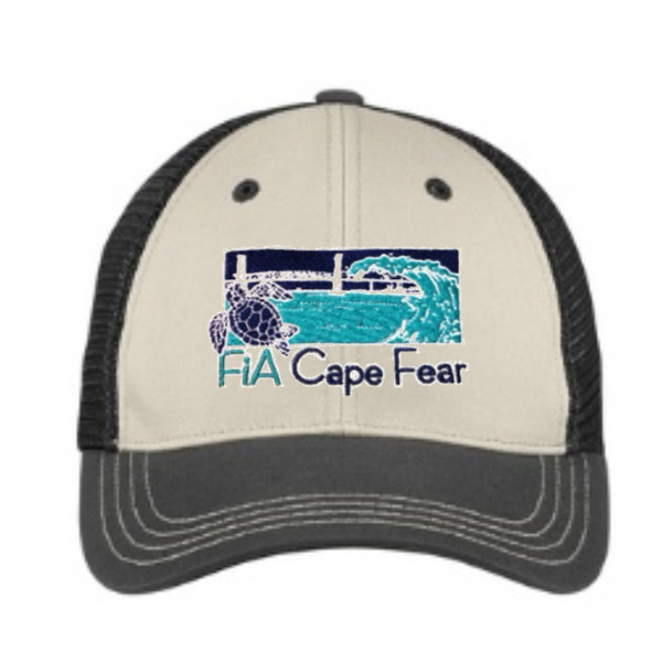 FiA Cape Fear District Tri-Tone Mesh Back Cap Pre-Order 11/19