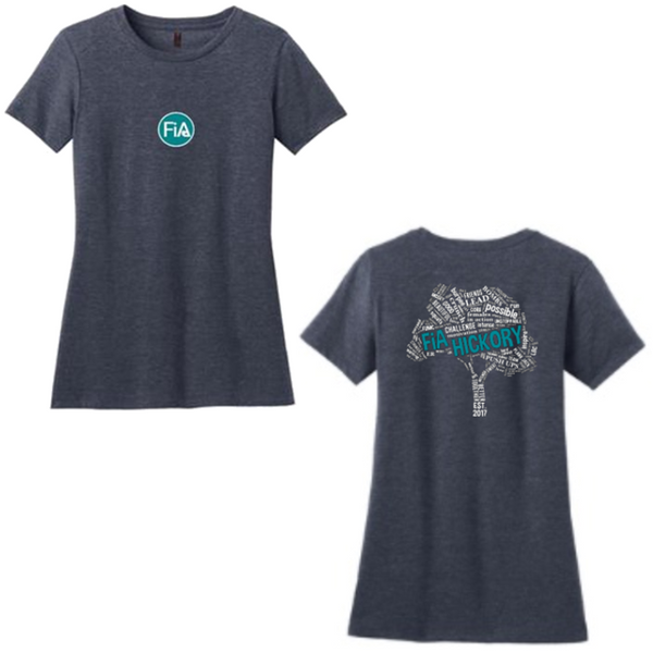 FiA Hickory District Made Women's Perfect Blend Tee Pre-Order