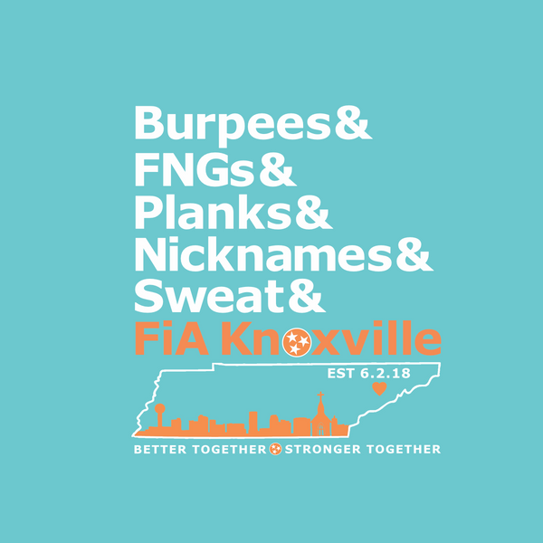 FiA Knoxville Word: New Era Ladies Heritage Blend Crew Tee Pre-Order