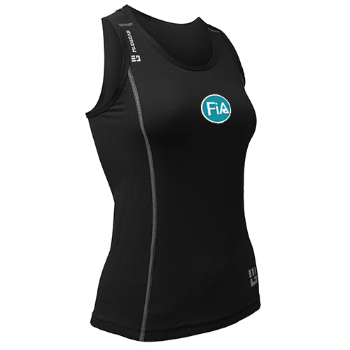 FiA MudGear Women's Performance Racerback Tank (Black) - Made to Order