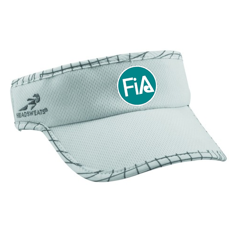 FiA Headsweats Supervisor - White Ultra Reflective