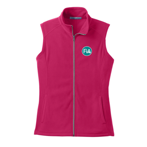 FiA Port Authority Ladies Microfleece Vest - Made to Order