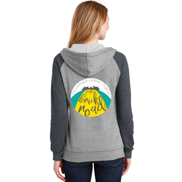 FiA Lexington Yellow Brick Road District Women's Lightweight Fleece Raglan Hoodie Pre-Order
