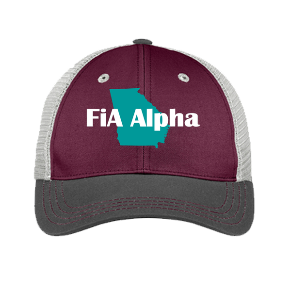 FiA Alpha District Tri-Tone Mesh Back Cap Pre-Order