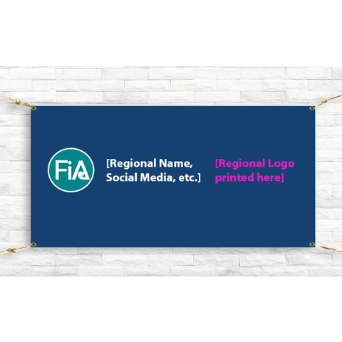 FiA Custom Vinyl Banner - Made to Order