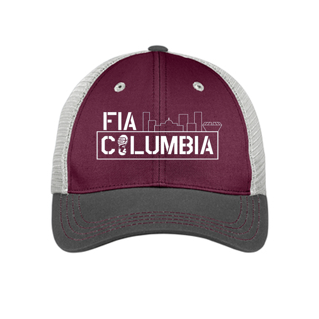 FiA Columbia District Tri-Tone Mesh Back Cap Pre-Order