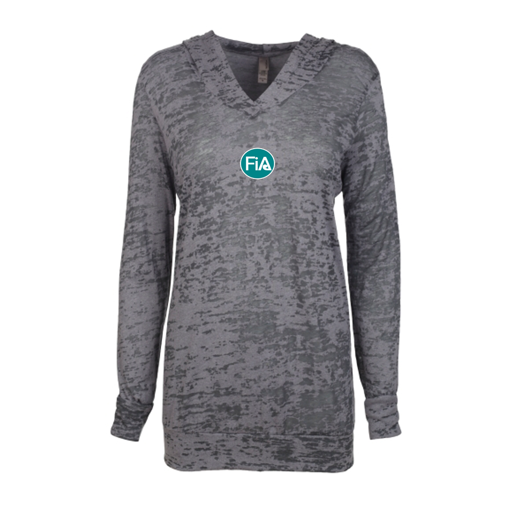 FiA Raleigh 2018 Next Level Women's Burnout Hoody Pre-Order