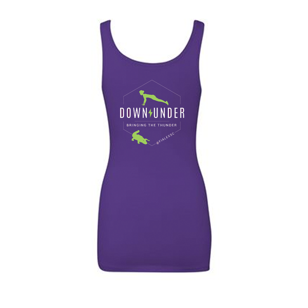 FiA Lexington Down Under Next Level Women's Spandex Jersey Tank Pre-Order