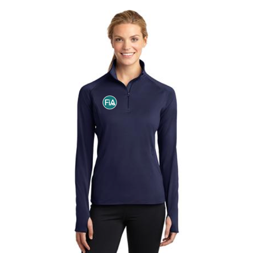 FiA South Wake Sport-Tek Women's 1/2 Zip Pullover Pre-Order
