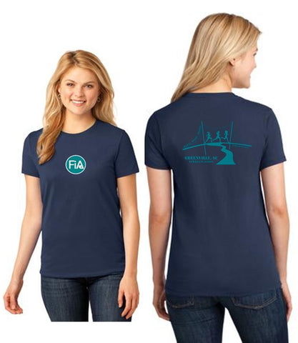 FiA Greenville Port & Company Ladies Short Sleeve Cotton Tee Pre-Order