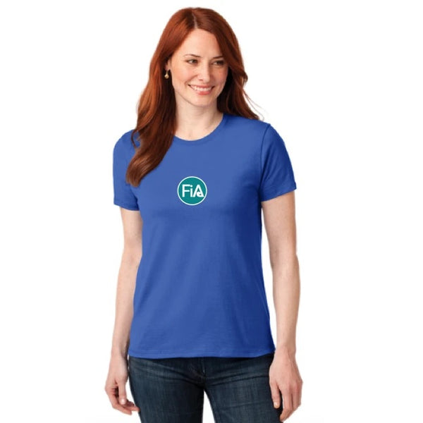FiA Port & Company Ladies Core Blend Tee - Made to Order
