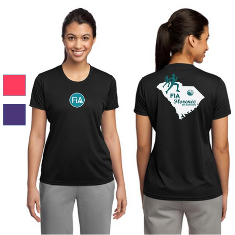 FiA Florence Sport-Tek Ladies PosiCharge Competitor Tee Pre-Order
