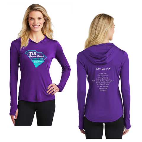 FiA Goose Creek: Why We FiA - Sport-Tek Ladies PosiCharge Competitor Hooded Pullover Pre-Order