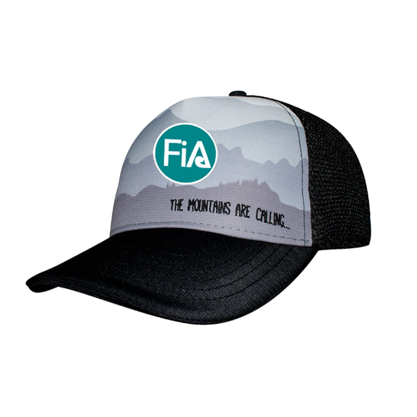 FiA Headsweats Misty Morning Trucker hat - Made to Order