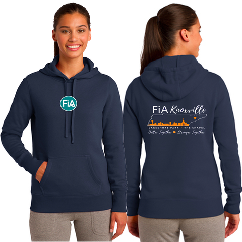 FiA Knoxville Sport-Tek Ladies Pullover Hooded Sweatshirt Pre-Order