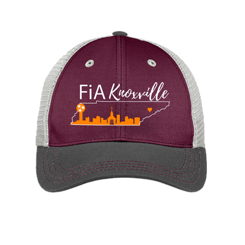 FiA Knoxville District Tri-Tone Mesh Back Cap Pre-Order