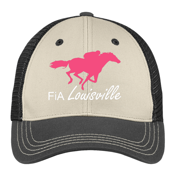 FiA Louisville District Tri-Tone Mesh Back Cap Pre-Order