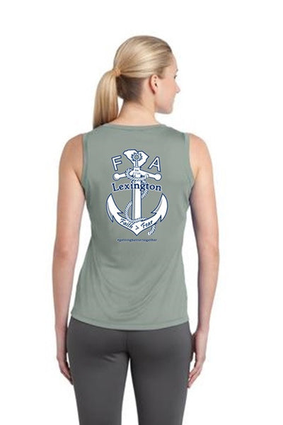 FiA Lexington Sport-tek Ladies Competitor V-Neck Sleeveless Tee Pre-Order