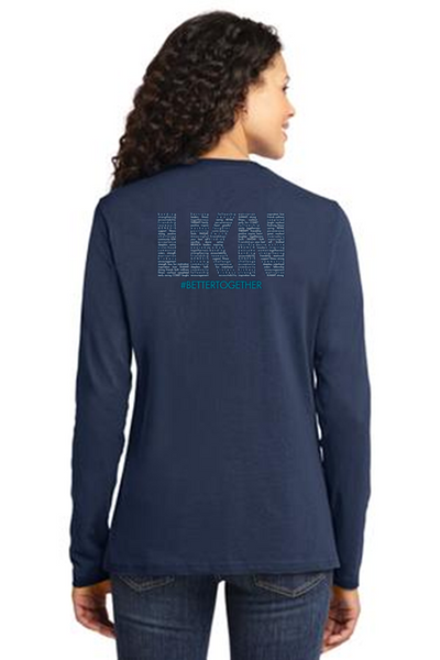 FiA LKN Port & Company Ladies Long Sleeve Cotton Tee Pre-Order