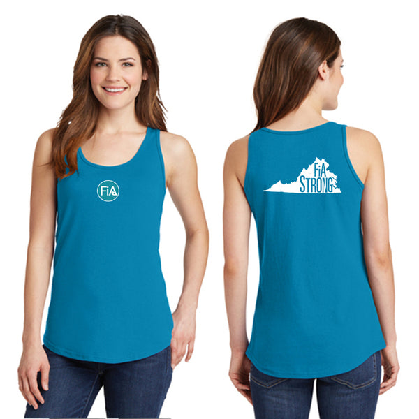 FiA Strong - Virginia Ladies Cotton Tank Top Pre-Order