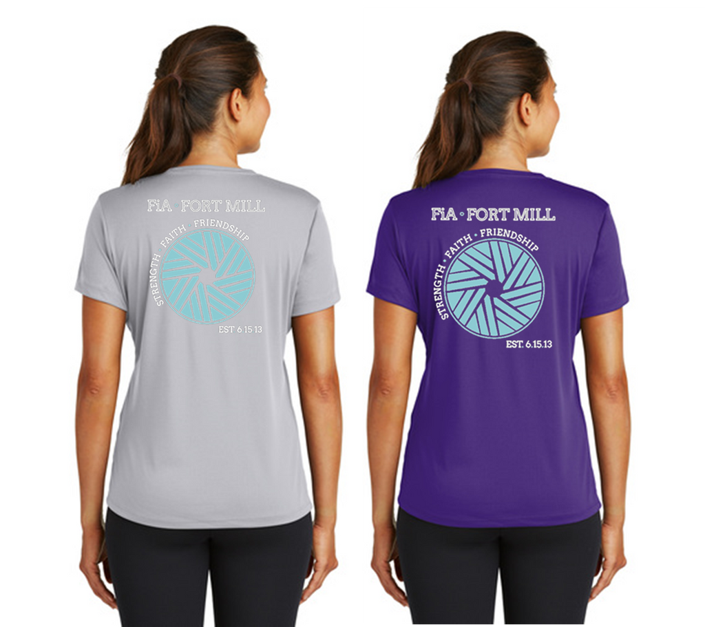FiA Fort Mill Sport Tek Women's Performance Tee Pre-Order